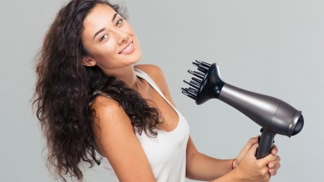 blow dryer for curly hair