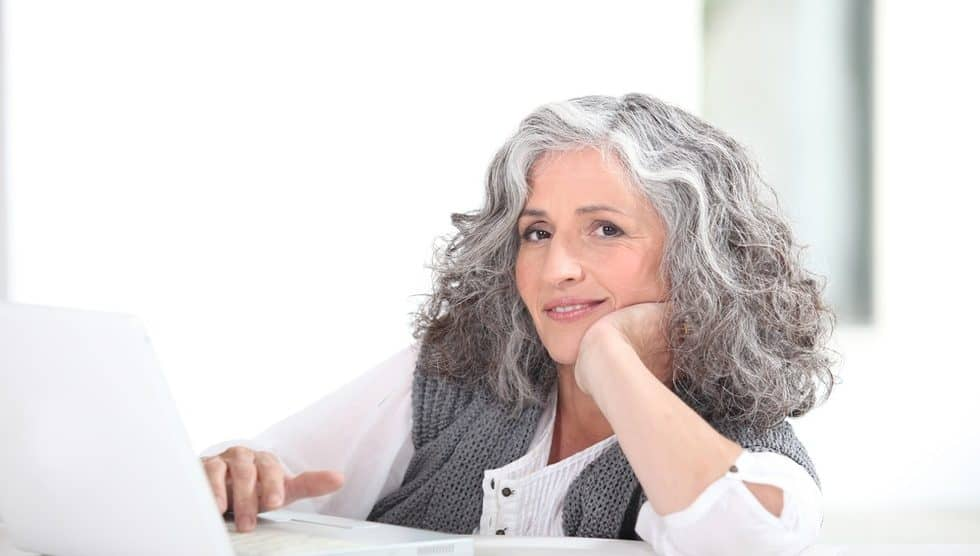 How to Grow Out Gray Hair