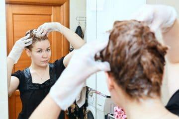 Developer to Lighten Hair