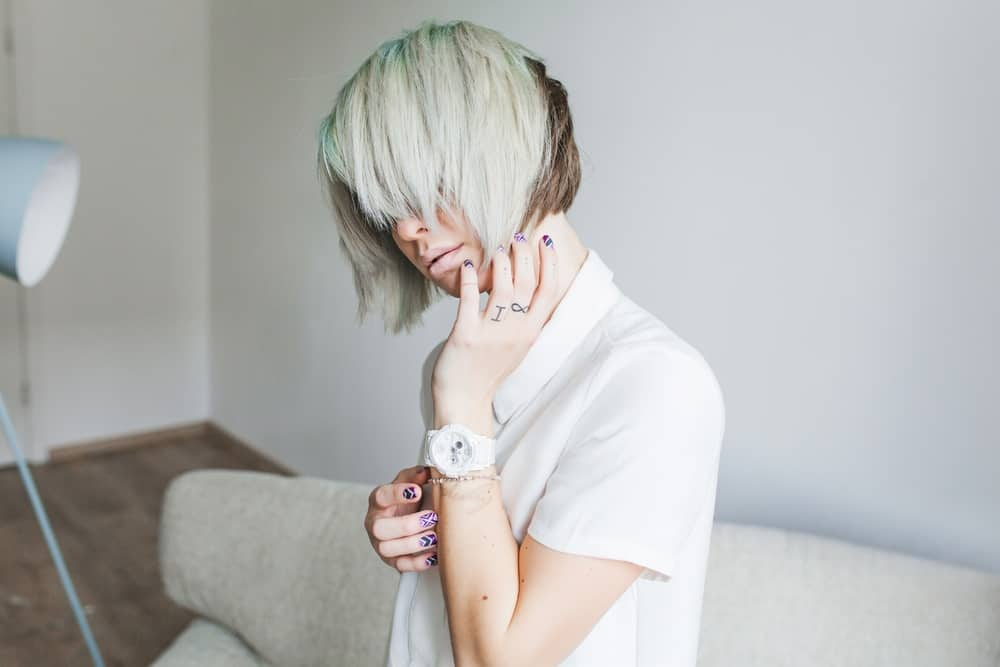 White Hair Without Bleach