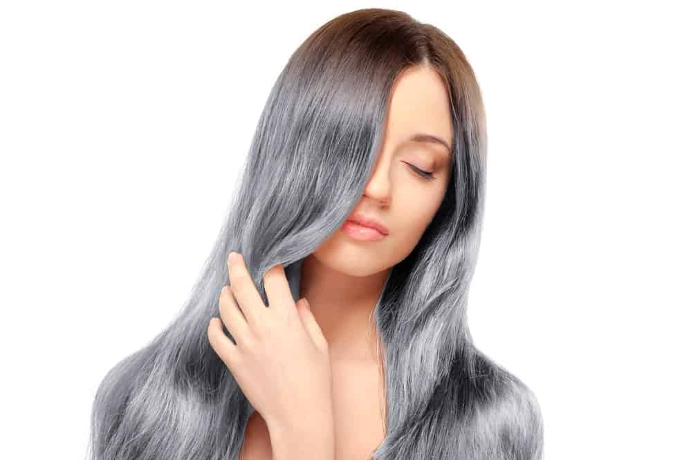 Semi Permanent Hair Dye to Cover Gray Hair
