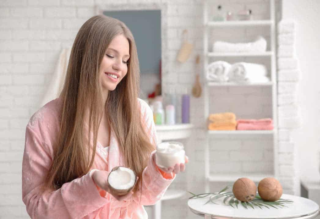 Coconut Oil Fade Hair Color